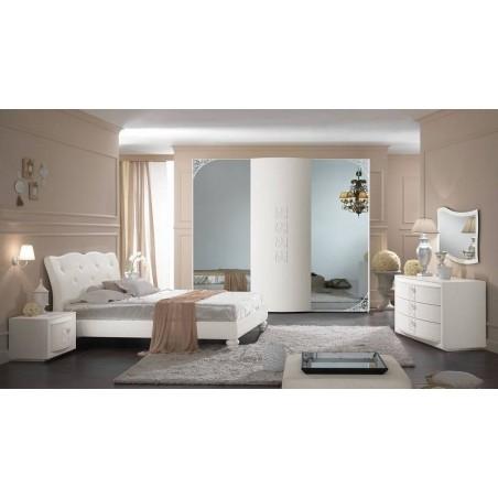 Спальня белая mod.ORCHIDEA
