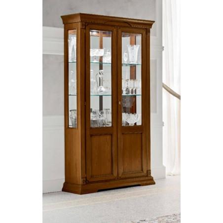 PRAMA гостиная PALAZO DUCALE ciliegio ВИТРИНА 2-дверная
