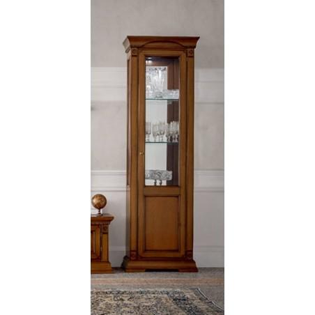 PRAMA гостиная PALAZO DUCALE ciliegio ВИТРИНА 1-дверная