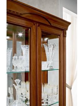 PRAMA гостиная PALAZZO DUCALE ciliegio ВЕРХНИЙ МОДУЛЬ от 2-дверной витрины