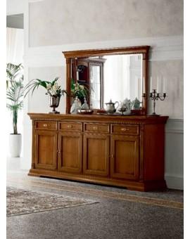 PRAMA гостиная PALAZO DUCALE ciliegio ЗЕРКАЛО 149 см навесное