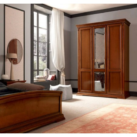 PRAMA  спальня PALAZZO DUCALE ciliegio ШКАФ 3-дверный без зеркал