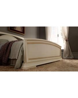 PRAMA  спальня PALAZZO DUCALE laccato КРОВАТЬ 140 см с ковкой и с изножьем