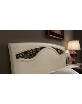 PRAMA  спальня PALAZZO DUCALE laccato КРОВАТЬ 180 см с ковкой без изножьем