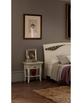 PRAMA  спальня PALAZZO DUCALE laccato ТУМБОЧКА с ящиком прикроватная
