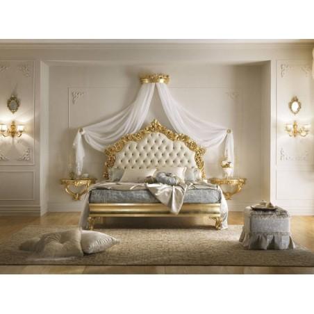CASA+39 Спальня VERDI/VIVALDI КРОВАТЬ с мягким изголовьем