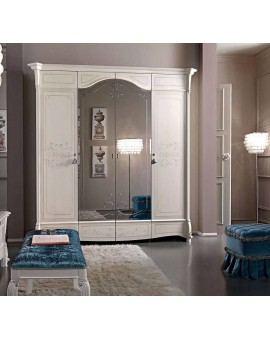 CASA+39 Спальня PRESTIGE lacatto ШКАФ 4-дверный