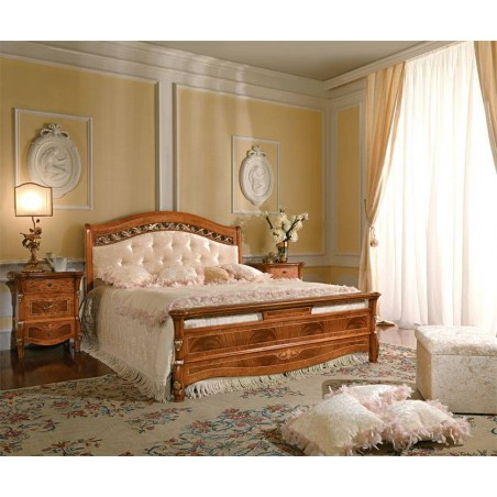 CASA+39 Спальня PRESTIGE КРОВАТЬ с мягким изголовьем