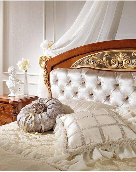 CASA+39 Спальня LA FENICE  КРОВАТЬ с мягким изголовьем