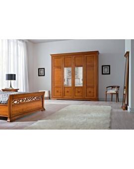 PRAMA спальня BOHEMIA  ШКАФ 4-дверный
