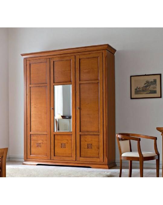 PRAMA спальня BOHEMIA  ШКАФ 3-дверный