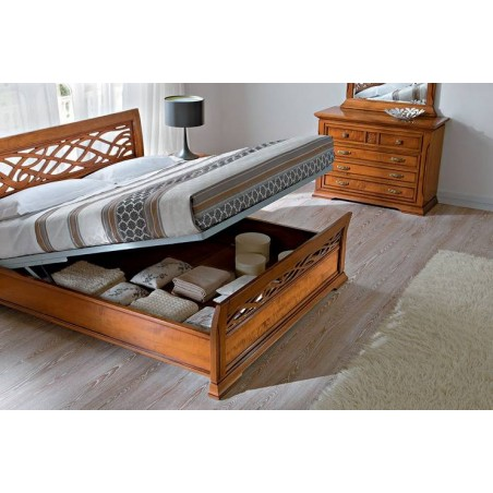 PRAMA спальня BOHEMIA  РЕШЕТКА подъемная с контейнером