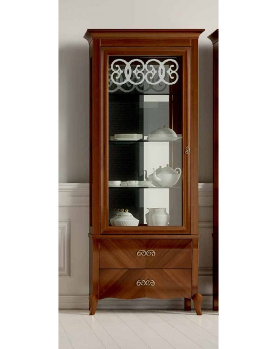 DALL'AGNESE гостиная SYMFONIA  ВИТРИНА 1-дверная