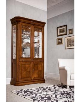 DALL'AGNESE гостиная TIFFANY ВИТРИНА 2-дверная