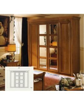 DALL'AGNESE спальня CHOPIN  ШКАФ 4-дверный