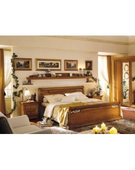 DALL'AGNESE спальня CHOPIN  КРОВАТЬ с металлическими вставками
