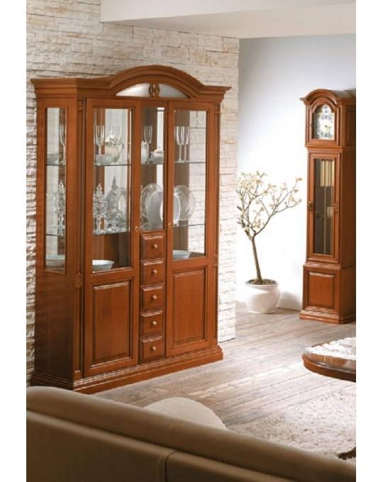 MARONESE гостиная NABUCCO  ВИТРИНА 3-дверная