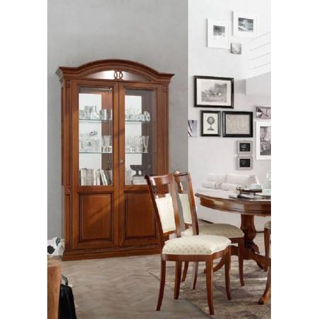 MARONESE гостиная NABUCCO  ВИТРИНА 2-дверная