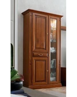 MARONESE гостиная NABUCCO  ВИТРИНА 2-дверная малая