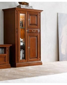 MARONESE гостиная NABUCCO  ВИТРИНА 2-дверная низкая