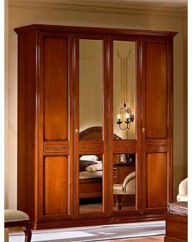 TORRIANI шкаф 4-дверный орех (Camelgroup)