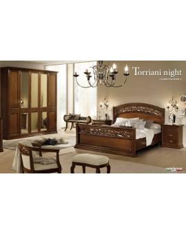 TORRIANI кровать TRAFORATO 160 орех (Camelgroup)