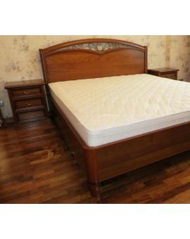 AURORA Кровать 180 без изножья  (Villanova Mario)