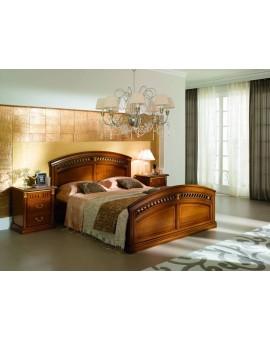 ANGELICA Кровать 160 черешня (Villanova Mario)
