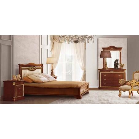 Спальня mod.CAPRI античный орех