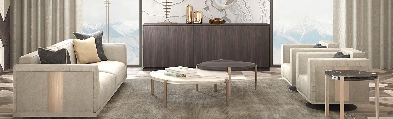 Купить итальянскую мебель для гостиной в Санкт-Петербурге