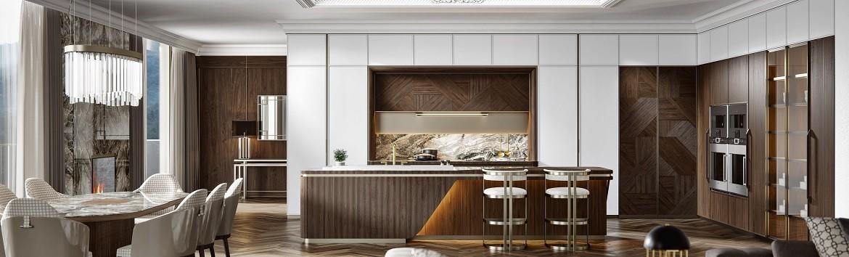 Заказать проект итальянской кухни в салоне Arca-Style в СПб