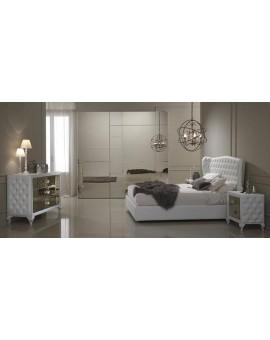 Спальня белая с зеркальными фасадами - Новинка 2015 года!