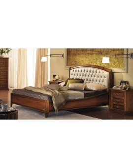 NOSTALGIA кровать Curvo Legno Capitonne (Camelgroup)