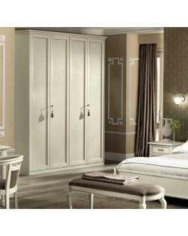 NOSTALGIA шкаф 4-дверный белый (Camelgroup)