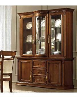 TREVISO витрина 3 дверная с ящиками (Camelgroup)
